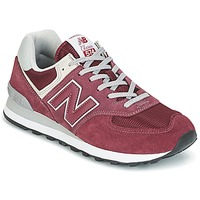 Shoes Women Low top trainers New Balance ML574 Bordeaux