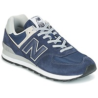 Shoes Men Low top trainers New Balance ML574 Blue