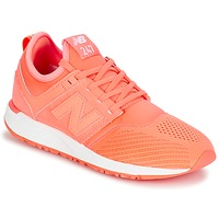 Shoes Women Low top trainers New Balance WRL247 Orange