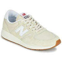 Shoes Women Low top trainers New Balance WRL420 Beige