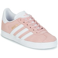 Shoes Girl Low top trainers adidas Originals GAZELLE C Pink