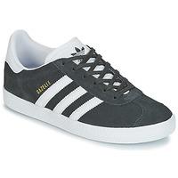 Shoes Children Low top trainers adidas Originals GAZELLE J Grey