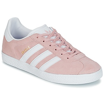 Shoes Girl Low top trainers adidas Originals GAZELLE J Pink