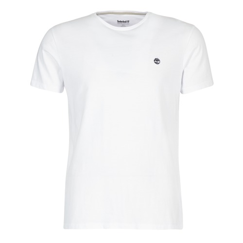 material Men short-sleeved t-shirts Timberland SS DUNSTAN RIVER CREW TEE White