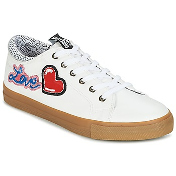 Shoes Women Low top trainers Love Moschino JA15213G15 White