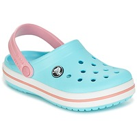 Shoes Girl Clogs Crocs Crocband Clog Kids Blue / Pink