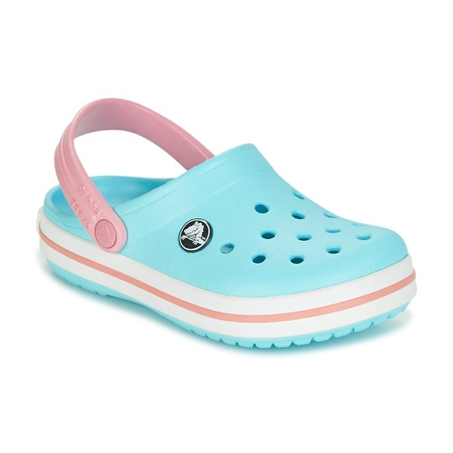 8b73b9fb5 Crocs Crocband Clog Kids Blue   Pink - Fast delivery with Spartoo ...