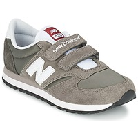 Shoes Children Low top trainers New Balance KE420 Grey / Black