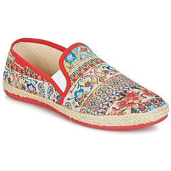 Shoes Women Slip ons Desigual GRATIFIP-BLOU Red