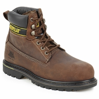 Shoes Men Mid boots Caterpillar HOLTON SB Brown