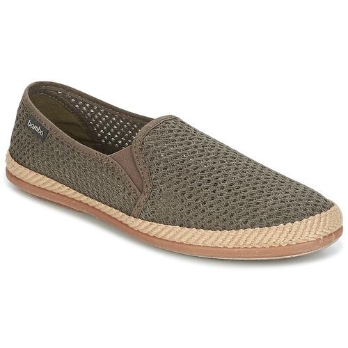 Shoes Men Espadrilles Bamba By Victoria COPETE ELASTICO REJILLA TRENZA Taupe