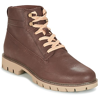 Shoes Men Mid boots Caterpillar BASIS Brown
