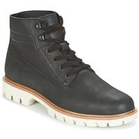 Shoes Men Mid boots Caterpillar BASIS Black