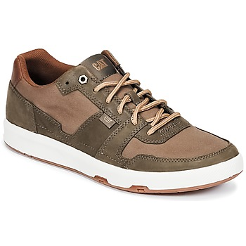 Shoes Men Low top trainers Caterpillar LINE UP CANVAS Brown