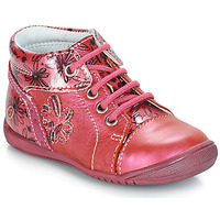 Shoes Girl Mid boots GBB ROSEMARIE Pink / Kezia