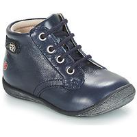Shoes Girl Mid boots GBB NICOLE Vte / Marine / Kezia