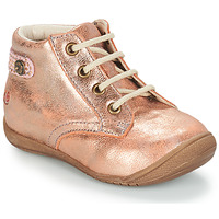 Shoes Girl Mid boots GBB NICOLE Pink
