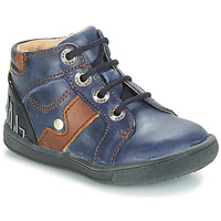 Shoes Boy Mid boots GBB REGIS Vte / Marine / Messi