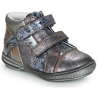 Shoes Girl Mid boots GBB ROXANE Grey / Blue