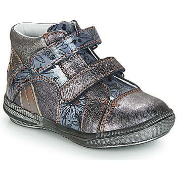 Shoes Mid boots GBB ROXANE Grey / Blue