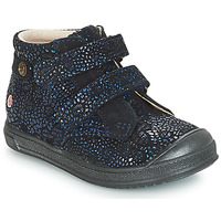 Shoes Girl Mid boots GBB RACHEL Blue / Marine