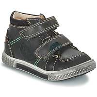 Shoes Boy Mid boots GBB ROBERT Gray black