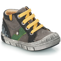Shoes Boy Mid boots GBB REINOLD Grey