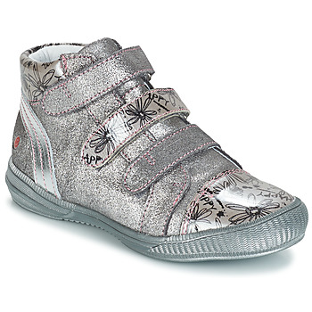 Shoes Girl Mid boots GBB RAFAELE Silver