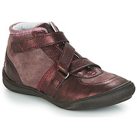 Shoes Girl High top trainers GBB RIQUETTE Brown / Bronze