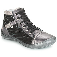 Shoes Girl High top trainers GBB ROMIE Grey / Black