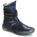 Shoes Girl Boots GBB ROSANA Blue / Black