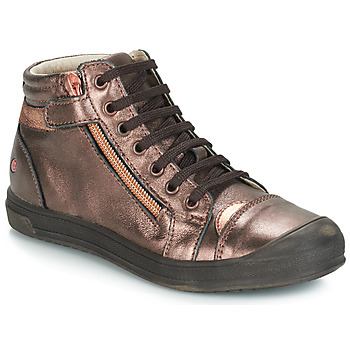 Shoes Girl Mid boots GBB DESTINY Vte / Coppery