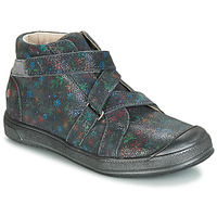 Shoes Girl Mid boots GBB NADEGE Vte / Grey / Printed