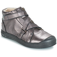 Shoes Girl Mid boots GBB NADEGE Grey