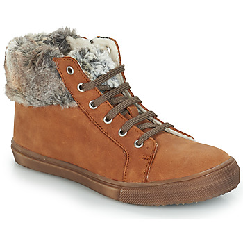 Shoes Girl Mid boots GBB ROBERTA Vts / Fauve