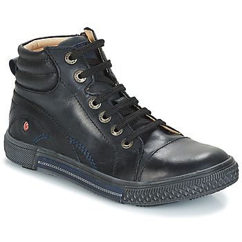 Shoes Boy High top trainers GBB RALPH Black