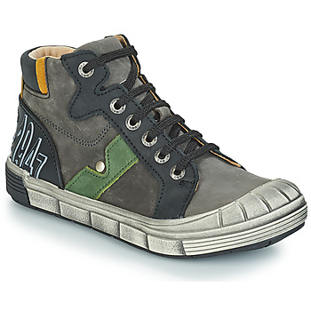 Shoes Boy Mid boots GBB RENZO Nuv / Gray black