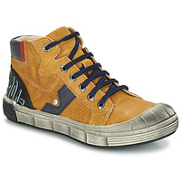 Shoes Boy Mid boots GBB RENZO Vte / Ocre tan