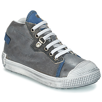 Shoes Boy Mid boots GBB RONALD Gray-blue