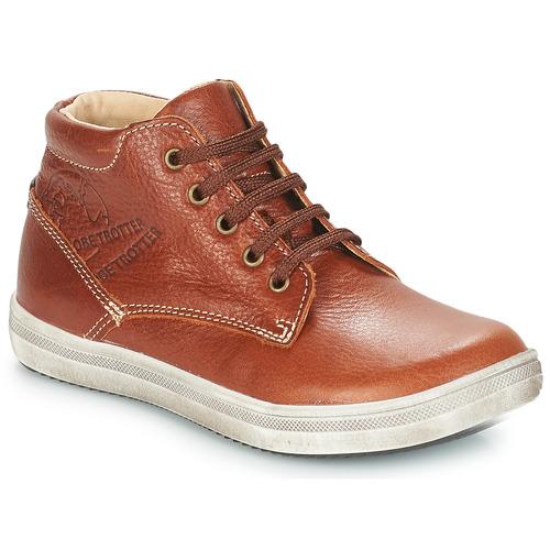 Shoes Boy Mid boots GBB NINO Brown