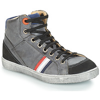 Shoes Boy Mid boots GBB ANGELO Grey