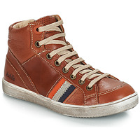 Shoes Boy Mid boots GBB ANGELO Vte / Brown