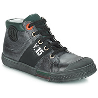 Shoes Boy High top trainers GBB RUFINO Grey