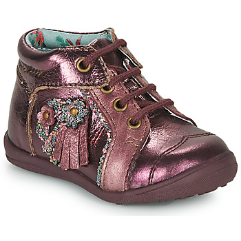 Shoes Girl Mid boots Catimini RAINETTE Vte / Bordo
