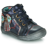 Shoes Girl Mid boots Catimini RHUBARBE Marine