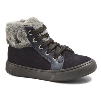 Shoes Girl Mid boots Catimini ROUSSETTE Marine / Vidal