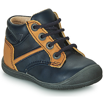 Shoes Boy Mid boots Catimini RATON Vte / Navy ochre / Kimbo