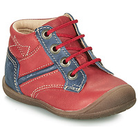 Shoes Boy Mid boots Catimini RATON Red / Marine