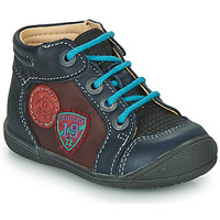 Shoes Boy Mid boots Catimini REGLISSE Vts / Blue bordeaux / Kimbo