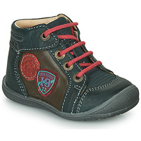 Shoes Boy Mid boots Catimini REGLISSE Vts / Pine brown / Kimbo